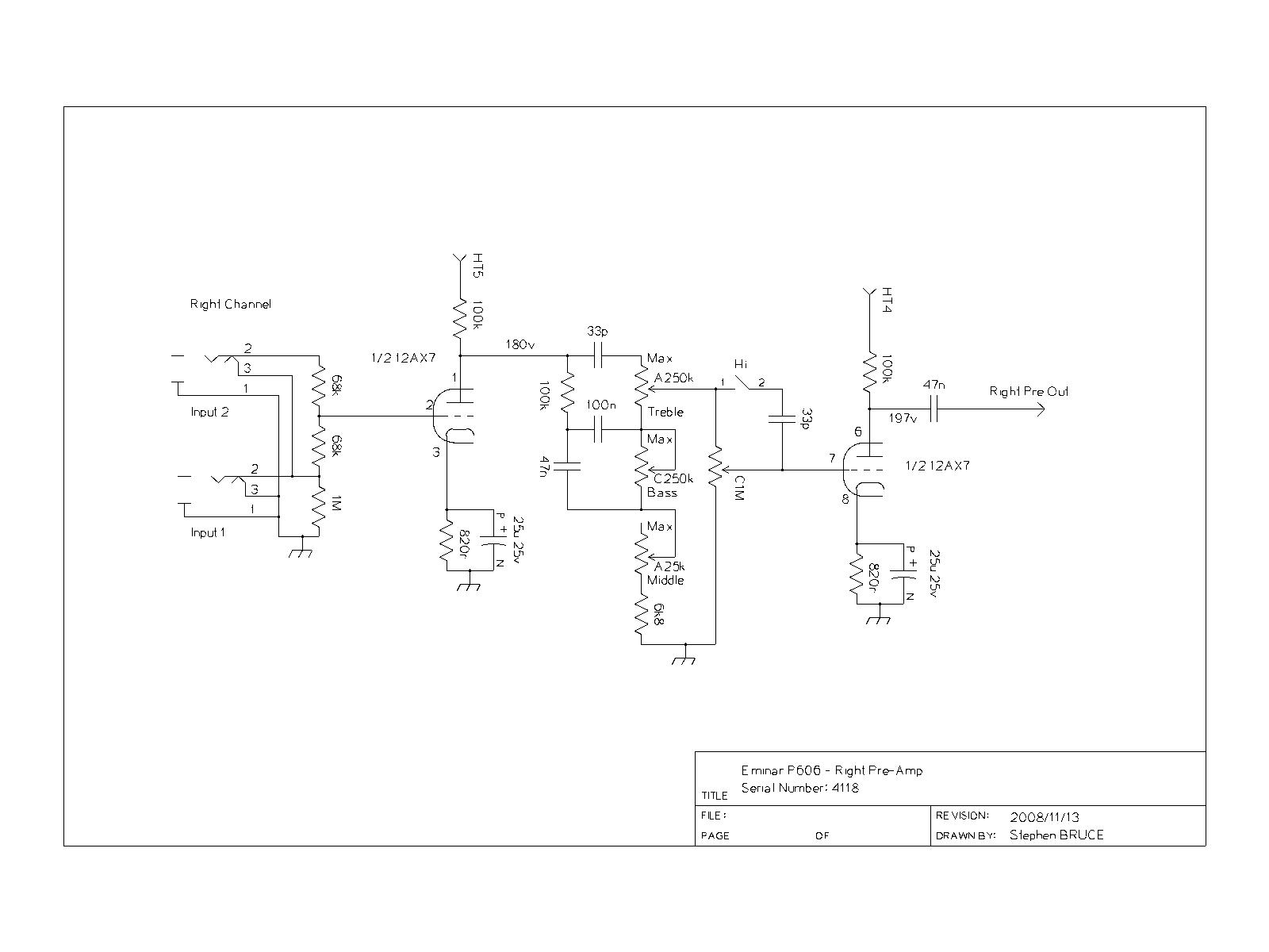 Eminar Jbl Speaker Parts Diagram Free Download Wiring Diagrams Pictures Preamp Right Circuit