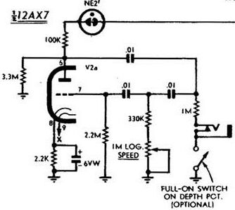 phase shift oscillator circuit