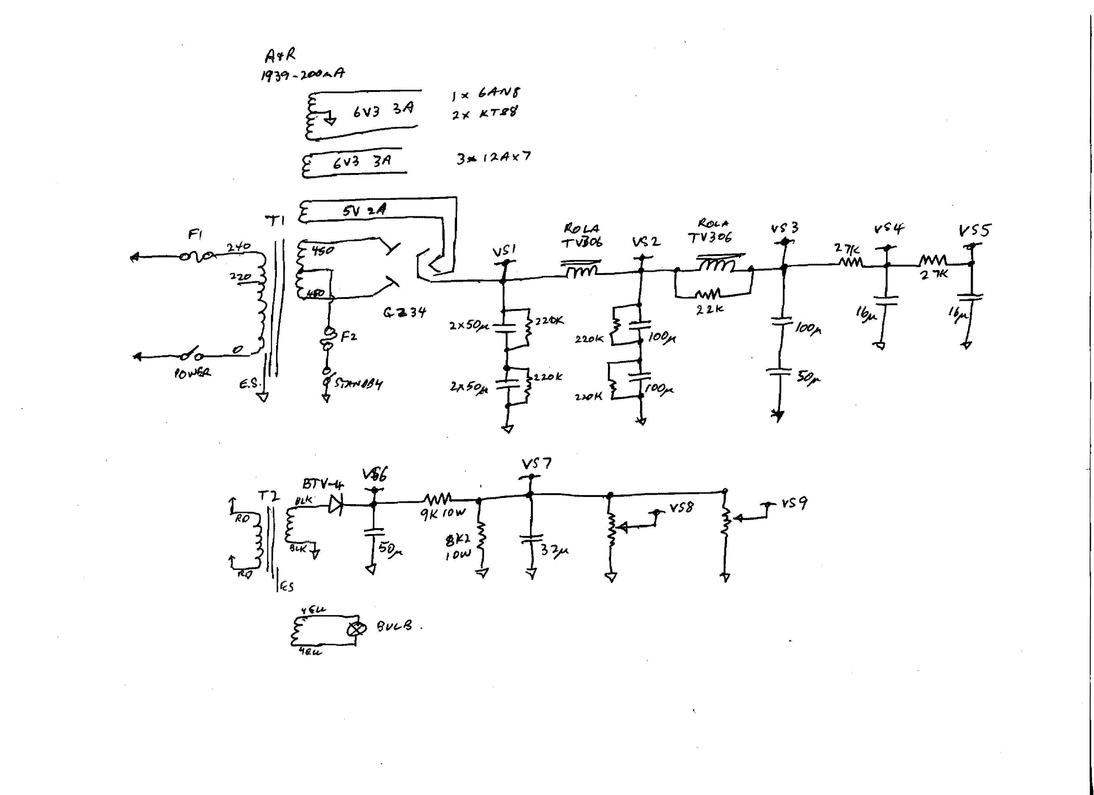 Low Power Ac To Dc Supply 2 Circuit Designed By Dave Johnson 100ma Current Booster Diagram Tradeoficcom Mcpherson